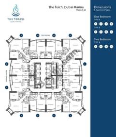 Floorplan 1st to 22nd