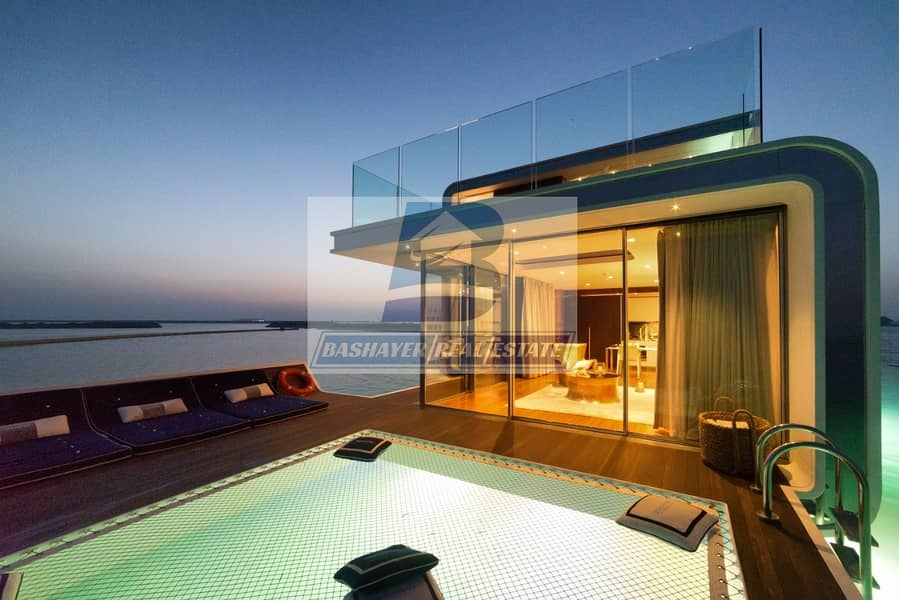 3 Floors Villa with Bed Room Under water - With Guaranteed ROI 100%