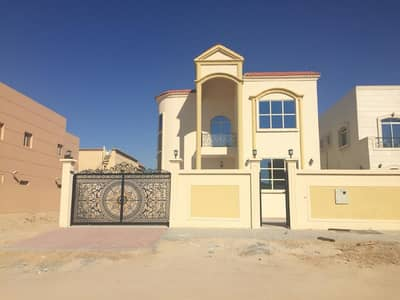 5 Bedroom Villa for Sale in Al Rawda, Ajman - Villa design classic bronze and finishing for sale in Ajman