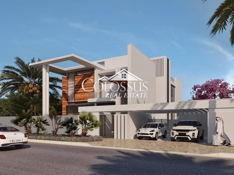 15 Amazing 5 Bedroom Villa in West Yas