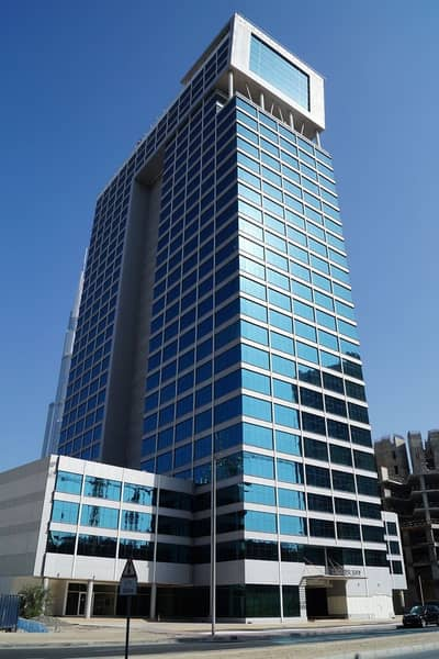 Office for Rent in Business Bay, Dubai - Shell and core office for rent in Clover Bay Tower