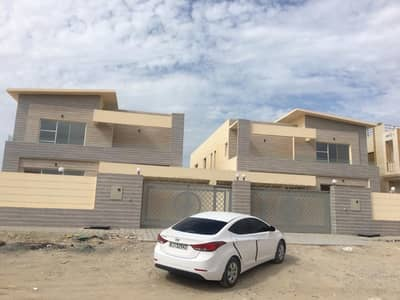5 Bedroom Villa for Sale in Al Rawda, Ajman - Marvelouse brand new vila for sale marble frontage .