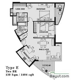 2 Bed Type E
