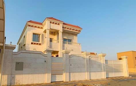5 Bedroom Villa for Sale in Al Rawda, Ajman - New villa in a modern European style magnificence in performance and accuracy in the design of the o