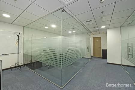 Office for Rent in Jumeirah Lake Towers (JLT), Dubai - Furnished   High Floor   Close to Metro