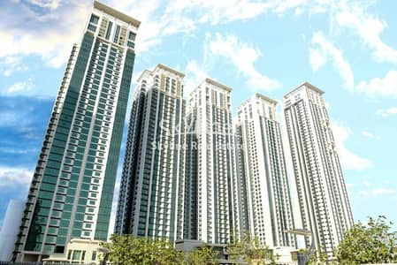 1 Bedroom Flat for Rent in Al Reem Island, Abu Dhabi - Hot Deal 1BR Apt on High floor for 3 Cheques