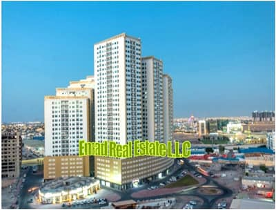 2 Bedroom Apartment for Rent in Ajman Downtown, Ajman - Ajman Pearl Towers: Nice 2 Bed Hall (3 Bath) near City Centre