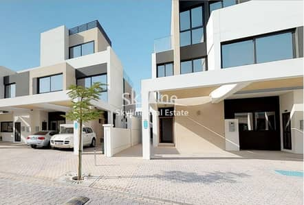 3 Bedroom Townhouse for Rent in Al Salam Street, Abu Dhabi - Vacant Brand New 3BR Townhouse with maids room