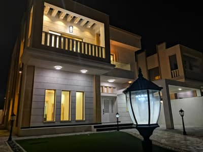 5 Bedroom Villa for Sale in Al Rawda, Ajman - New villa with electricity, water and air conditioners with the possibility of bank financing