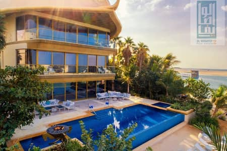 7 Bedroom Villa for Sale in The World Islands, Dubai - Furnished by BENTLEY - Own Luxury Palace - The best view in DUBAI