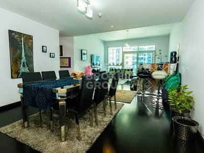 شقة 3 غرفة نوم للبيع في دبي مارينا، دبي - Exclusive | Upgraded |Vacant|Marina View