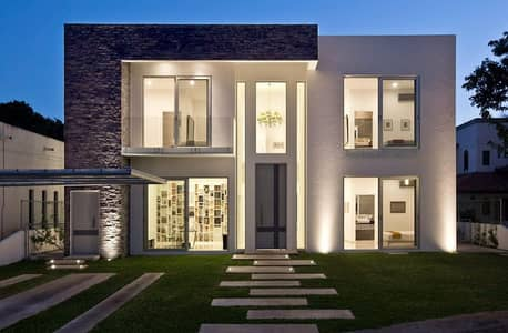 5 Bedroom Villa for Sale in Dubailand, Dubai - The best real estate opportunities in Dubai owns a villa with the lowest price and the finest design