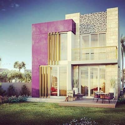4 Bedroom Villa for Sale in Akoya Oxygen, Dubai - Opportunities Villa for excellence and investment and ownership of the site and services Dubailand,