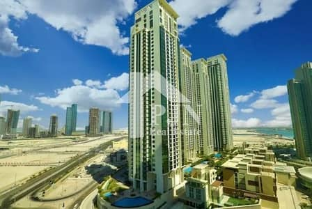 1 Bedroom Apartment for Rent in Al Reem Island, Abu Dhabi - 4 chqs 1 Bedroom for rent with pool view