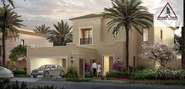 5 Bedroom Villa for Sale in Arabian Ranches 2, Dubai - Amazing Villa From Emaar Pay Only 10 % And Move To Villa 7 Years Post handover/DLD waiver / 5 Years Service Charge