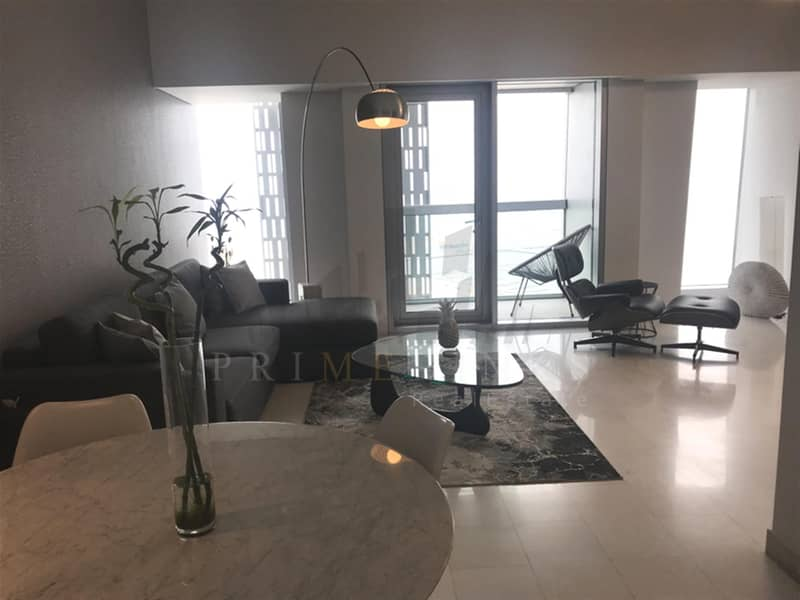 2 Modern and luxurious 2 bed full sea view