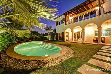 5 Bedroom Villa for Rent in Motor City, Dubai - Vacant | Big Plot | With Pool | Facing Garden
