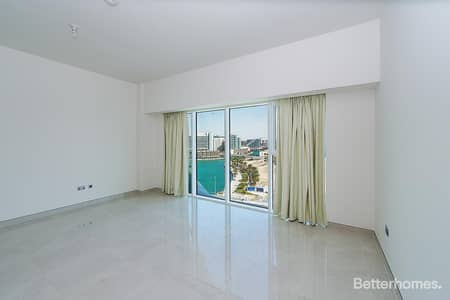 Studio for Rent in Al Raha Beach, Abu Dhabi - Brand New Studio Apartment road/Sea View