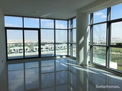 2 Bedroom Flat for Rent in DAMAC Hills (Akoya by DAMAC), Dubai - Spacious 2BR + Maid | Park and Lake view