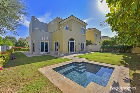 4 Bedroom Villa for Rent in Dubai Sports City, Dubai - Exclusive | C3 | Jacuzzi | Backing Park