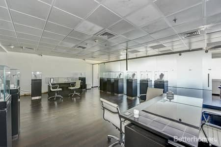 Office for Rent in Jumeirah Lake Towers (JLT), Dubai - Partitioned   High Floor   Marina View