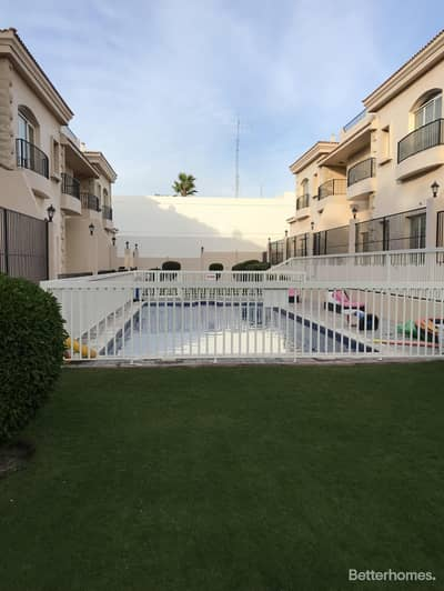 5 Bedroom Villa for Rent in Al Safa, Dubai - 5 bedrooms in Jumeirah 3, compound with pool