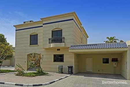 4 Bedroom Villa for Rent in Al Safa, Dubai - Compound   Private garden and swimming pool