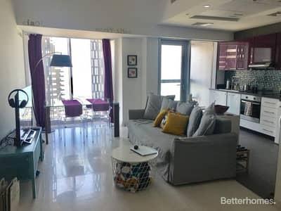 1 Bedroom Flat for Rent in Dubai Marina, Dubai - Full Sea View - Unfurnished - 1 Bedroom