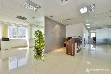 Office for Rent in Jumeirah Lake Towers (JLT), Dubai - Fully Furnished   Partitioned   Full Floor