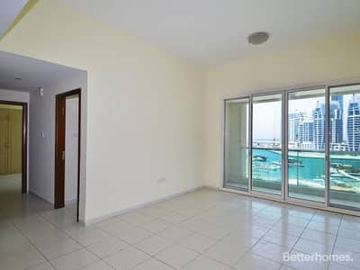 2 Bedroom Flat for Rent in Dubai Marina, Dubai - Full Marina   2 Bed plus Study   Vacant Now