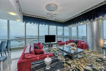 4 Bedroom Flat for Sale in Dubai Marina, Dubai - Full Sea View I High Floor I Vacant on Transfer