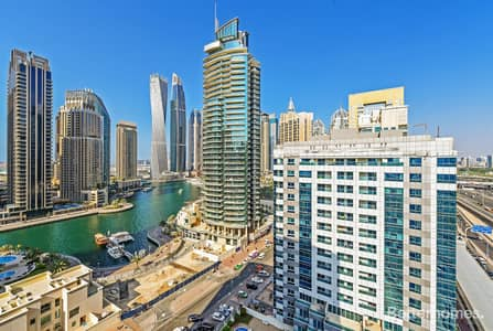 2 Bedroom Apartment for Sale in Dubai Marina, Dubai - Vacant | Partial Marina View |Diamond 5