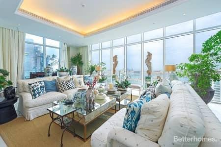 4 Bedroom Apartment for Sale in Dubai Marina, Dubai - Penthouse   Triplex   Panoramic sea view