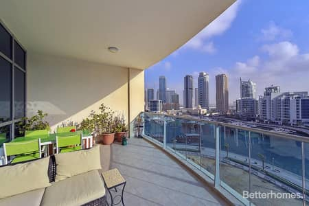 2 Bedroom Apartment for Sale in Dubai Marina, Dubai - The Jewels | Maid's room | Balcony | Full Marina