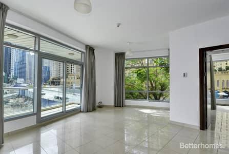 1 Bedroom Apartment for Sale in Dubai Marina, Dubai - Vacant | Spacious 1 bedroom | low floor