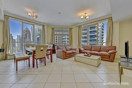 2 Bedroom Apartment for Sale in Dubai Marina, Dubai - Spacious 2BR   The Torch    Dubai Marina