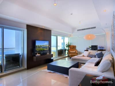 3 Bedroom Flat for Sale in Dubai Marina, Dubai - 3 bed + Maids - Full Sea View - Fully Upgraded
