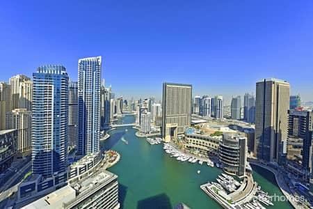 1 Bedroom Apartment for Sale in Dubai Marina, Dubai - Fully Furnished | Marina View | Vacant on Transfer