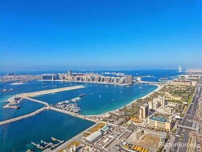 3 Bedroom Flat for Sale in Dubai Marina, Dubai - High Floor 3 Bed Duplex in Cayan Tower Sea View