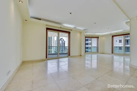 3 Bedroom Flat for Sale in Dubai Marina, Dubai - Vacant | Partial Marina View | Large Terrace