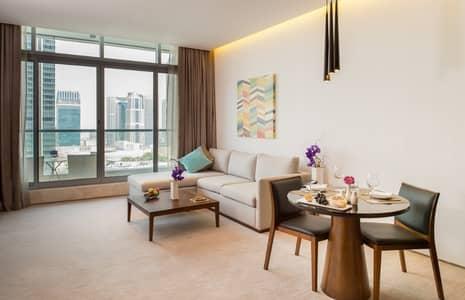1 Bedroom Hotel Apartment for Rent in Dubai Marina, Dubai - 1 Bedroom Apartment - JBR View - InterContinental Dubai Marina