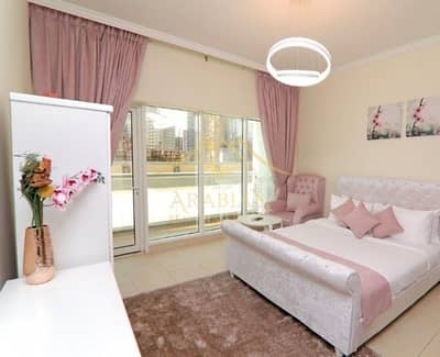 Exclusive Furnished large Studio Burj al Nujoom