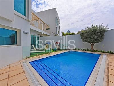 4 Bedroom Villa for Sale in Al Sufouh, Dubai - Exclusive Stunning TH with Private pool