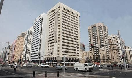 3 BHK with balcony only at AED 80K is available for rent in tower on Al Salam street