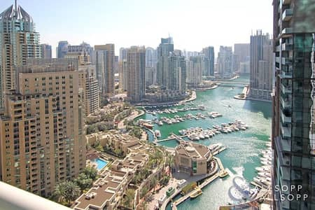 2 Bedroom Apartment for Rent in Dubai Marina, Dubai - Two Bedroom | Marina View | Available Now
