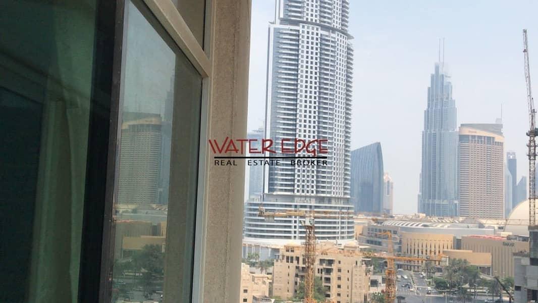Large 1 BR I Partial Burj View