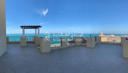 4 Bedroom Penthouse for Sale in Al Hamra Village, Ras Al Khaimah - 4 Bedrooms with Panoramic View in Royal Breeze at Al Hamra