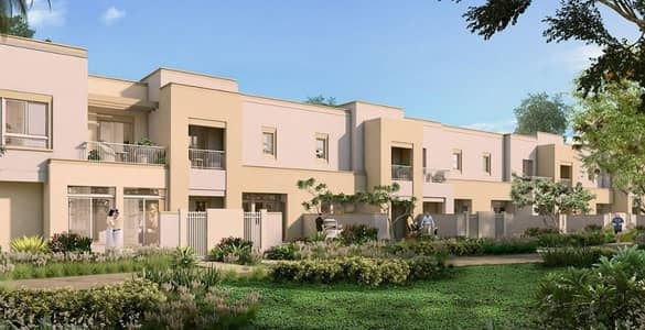 4 Bedroom Townhouse for Sale in Town Square, Dubai - Brand New 4 BR Townhouse Maid Room in Dubai Townsquare