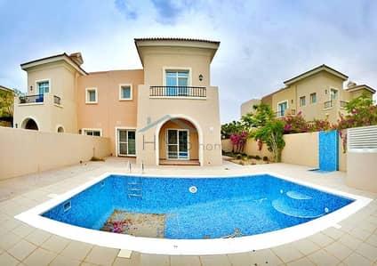 تاون هاوس 3 غرفة نوم للبيع في المرابع العربية، دبي - Rare 2E Lake View|Vacant|Private Pool