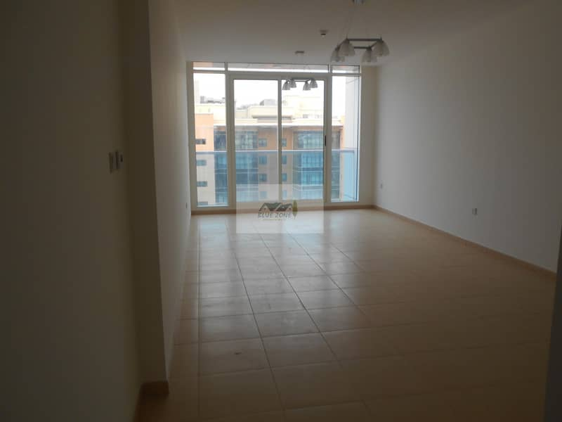 2BHK WITH 2 FULL BATHROOMS 10 MINUTES BY WALK TO NAHDA METRO  EMIRATES DRIVING SCHOOL WITH BALCONY PARKING AVAIL IN 46K